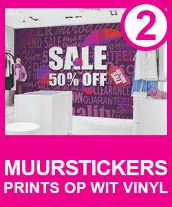 muurstickers vinyl