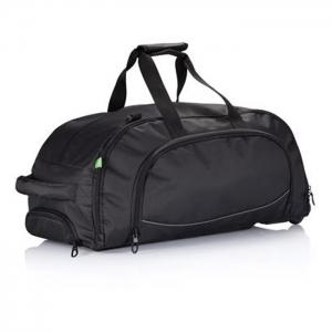 mooie zwarte bedrukte tas